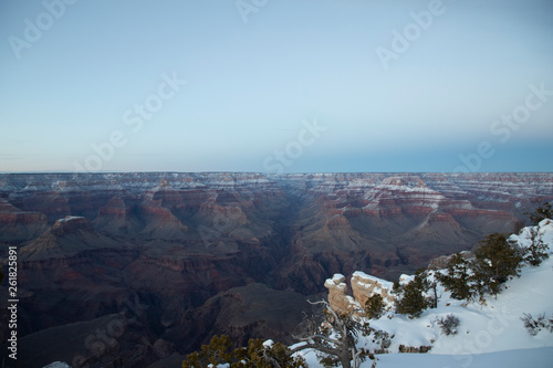 Grand Canyon in the Snow © Leon Jurgens
