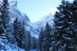 canvas print picture - winter, schnee, berg, landschaft, wald, baum, erkältung, natur, himmel, alpen, berg, blau, baum, ski, jahreszeit, weiß, föhre, -tannen, eis, weihnachten, frost, gefroren, hills, szene, schneebedeckt
