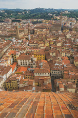 View of buildings and the city of Florence, Italy © Mark Zhu