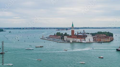 View of island of San Giorgio Maggiore in Venice