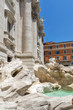 Quadro Amazing view of Trevi Fountain (Fontana di Trevi) in city of Rome, Italy
