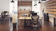 Modern design interior office.