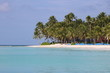canvas print picture - Traumstrand / DomRep / Karibik