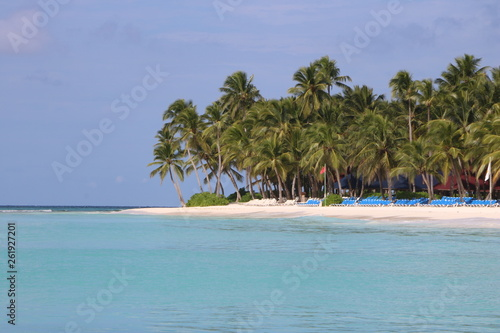 canvas print picture Traumstrand / DomRep / Karibik