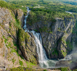 Vøringsfossen in Måbodålen Norwegen