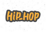 Hip-hop hand drawn lettering