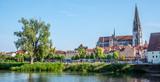 Panorama von Regensburg in der Oberpfalz