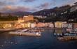 Quadro vista aerea di Marina Grande, Sorrento, Italia