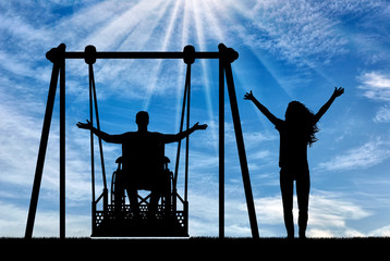 Concept of the lifestyle of people with disabilities