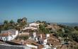 canvas print picture - Monsaraz in Portugal
