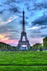 Eiffelturm von Paris, Frankreich © Jearu