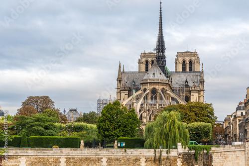 Notre Dame de Paris cathedral , Paris, France - 262119498