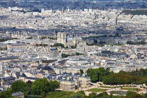 fototapeta na ścianę Paris Notre Dame