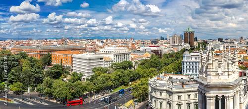 Plaza de Cibeles in Madrid - 262121482