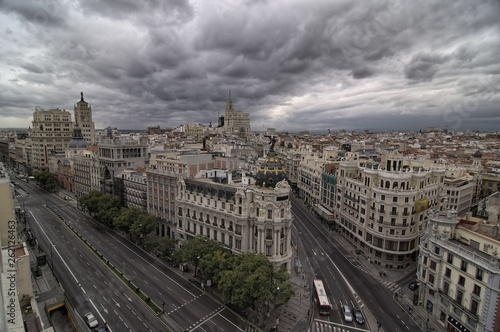 Nie view from MADRID in Spain © Diqn