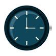 round clock time