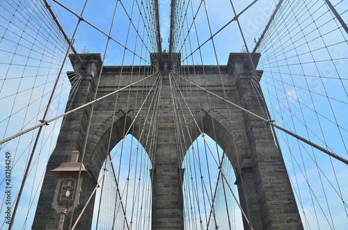 Fototapeten Brooklyn Bridge Brooklyn Bridge, New York, USA