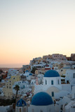 Santorini Greece at sunset