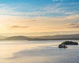 Snasa lake in Norway, scenic nature