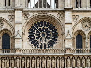 Notre-Dame de Paris before fire hazard
