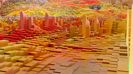 3D Würfel Hintergrund Grafik