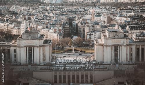 fototapeta na ścianę Parigi, francia, TourEiffel, Notre Dame, viaggio,