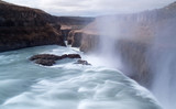 Gullfoss, Iceland's most famous waterfall