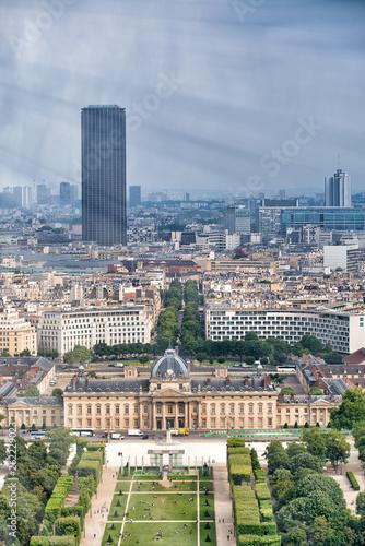 Trocadero Gardens aerial view from Eiffel Tower, Paris - 262229023