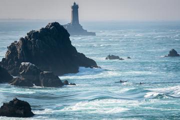 le phare et les kayaks © antoine