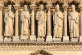 La Galerie des Rois. Cathédrale Notre-Dame de Paris. / The Gallery of Kings. Notre-Dame de Paris cathedral.