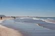 canvas print picture - Conil de la Frontera Beach atlantic spain