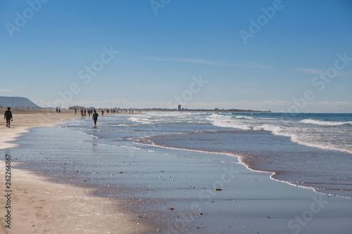 canvas print picture Conil de la Frontera Beach atlantic spain
