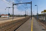 Railway station with plateform