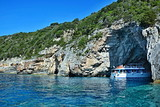 Greece,island Paxos-cruise in the Blue cave