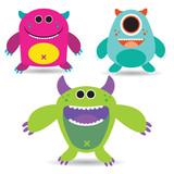 Pakiet Funny Little Monsters # 1
