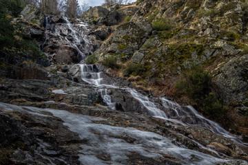 Cascada de Mojonavalle en Canencia