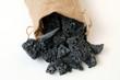 Carbone dolce nel sacco di iuta   - 262358456