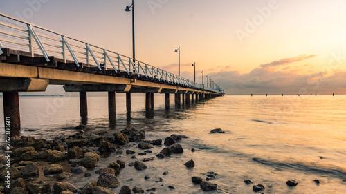 Pier at Sunrise  © Portadown