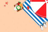 Tropical summer design