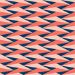 Decorative pattern for the background, tile and textiles. It is assembled from modular parts. Vector. Seamless. - 262448685