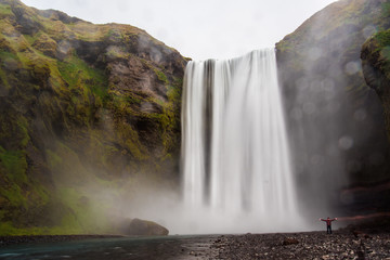 Skógafoss waterfall favourite waterfall in Iceland