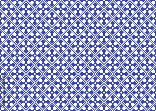 Chinese porcelane seamless pattern. Abstract background. © rea_molko