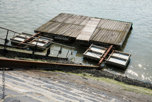 floating jetty in Blankenberge, Belgium © Corinne