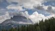 canvas print picture - Die Drei Zinnen in den Dolomiten