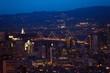 Quadro Oakland Bay Bridge in San Francisco at night