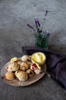 canvas print picture - Scones