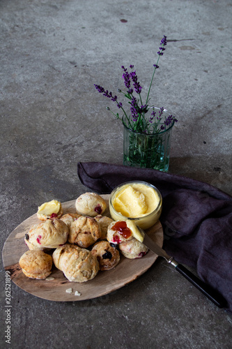 canvas print picture Scones