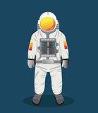 Astronaut , vector design [Converted]