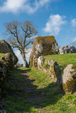 Entrance to the Grange Stone Circle. Co. Limerick. Ireland. April 2019