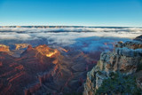 Grand Canyon at Sunrise with Clouds